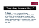 Airbags: Why You Are Being Commoditized